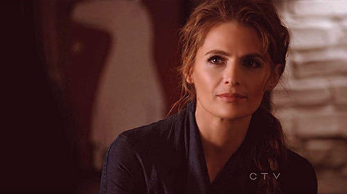Kate Beckett achtergrond with a portrait entitled Kate