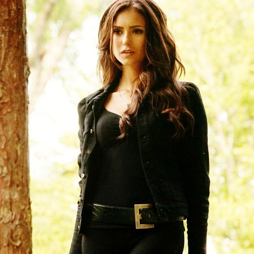 Katerina Petrova wallpaper possibly containing a hip boot and a well dressed person entitled Katerina Season 2 :)