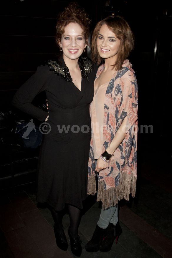 Katherine Parkinson (diana) attends the after party on press night for Absent 老友记 at mint leaf,