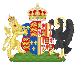 Katherine of Aragon's manteau of arms