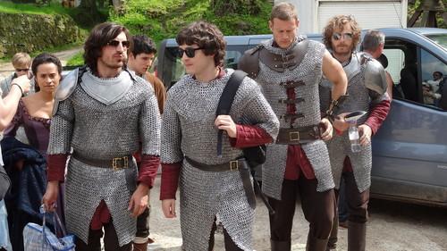 King, Queen, Wizard & Knights