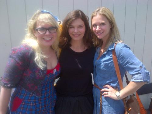 Kirsten, Jeanne Tripplehorn & AJ