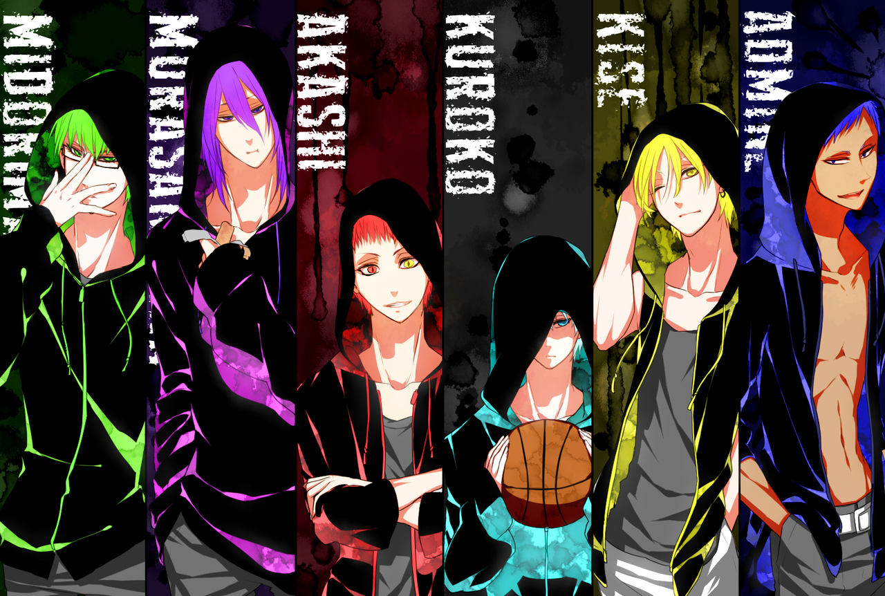 generation of miracles aomine - photo #1