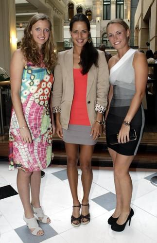 Kvitova,Ivanovic,Wozniacki