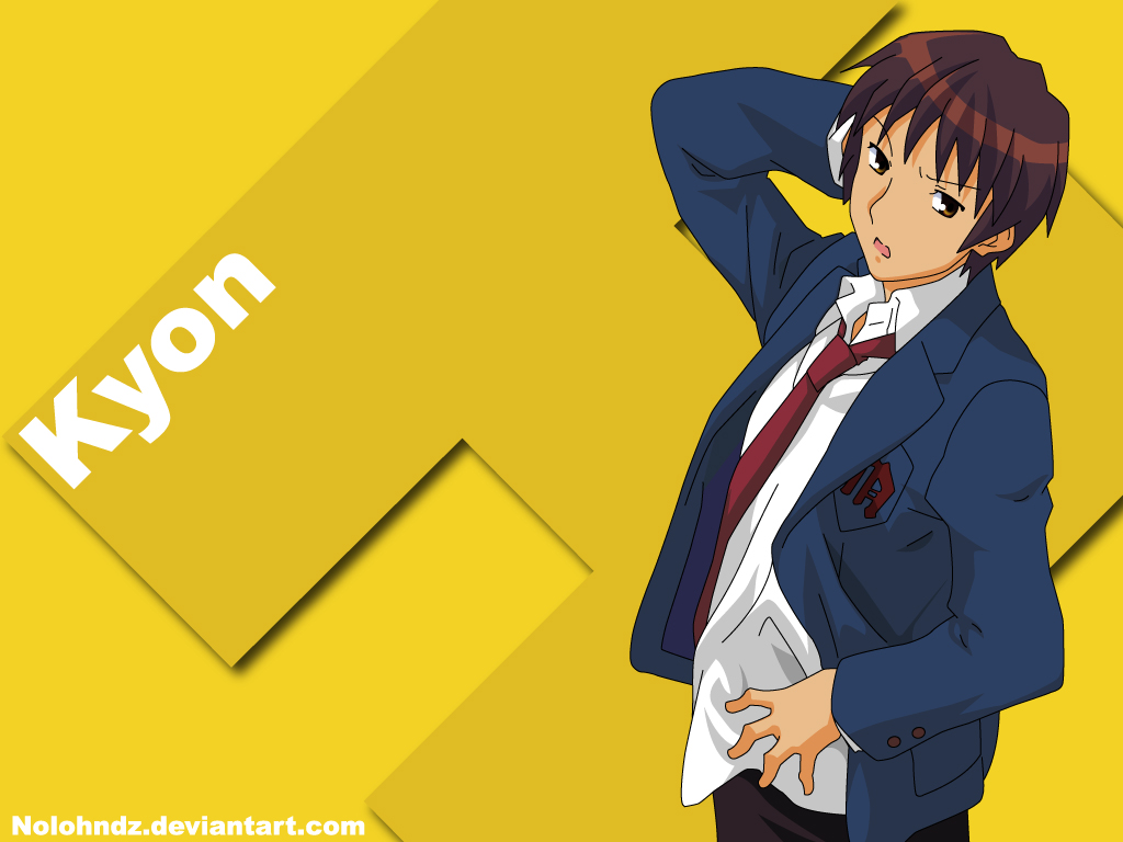 haruhi and kyon relationship test