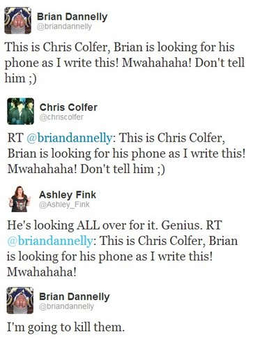 LOL - chris-colfer Photo