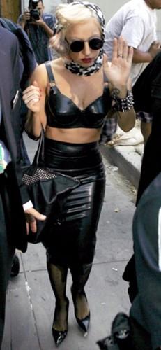 Lady GaGa latex