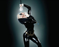 Lady GaGa latex