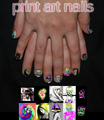 Lady Gaga Nails Art - lady-gagas-fashion fan art