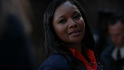 "Lanie [Castle, Season 4, Episode 2, ""Heroes and Villains"