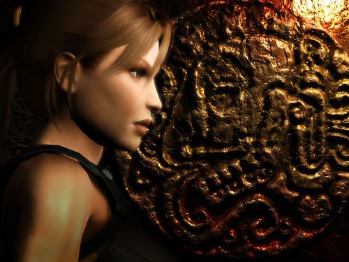 Lara Croft Tomb Raider 黑夜传说 壁纸
