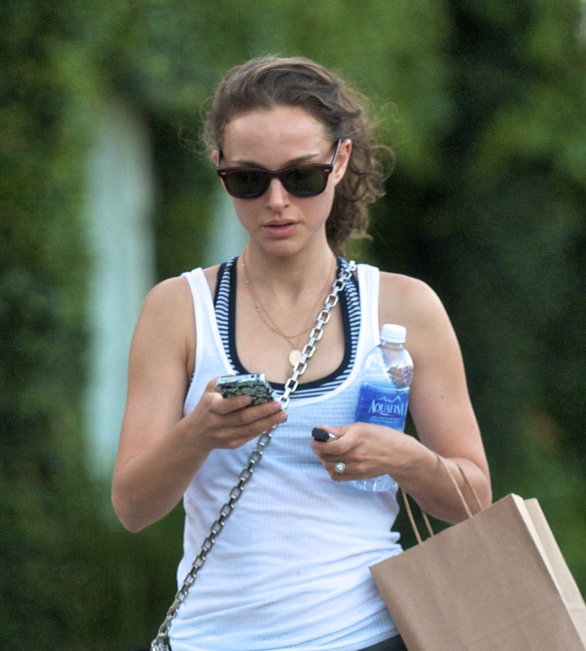 Leaving the gym after a workout in Atwater Village, Los Angeles (June 28th 2012)