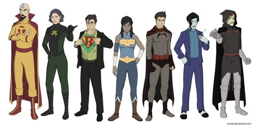 Legend of Korra superheros
