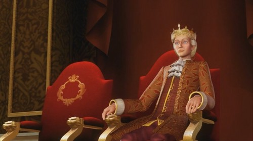 Like a king...wait, what?