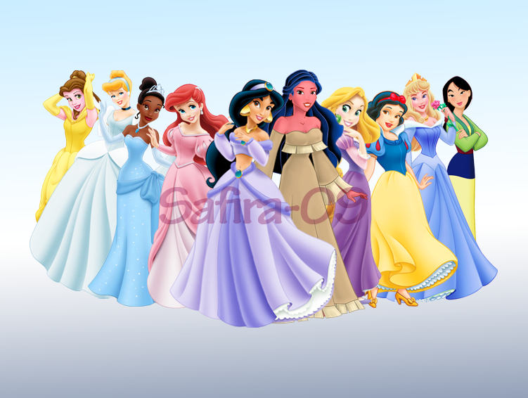 Disney Princesses Games Dress up Disney Princess Line up