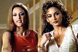 Lola Glaudini The Sopranos screenshot