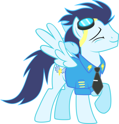 My Little Pony Friendship is Magic wallpaper called Lots of Soarin