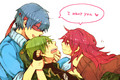 Love Triangle  - happy-tree-friends photo