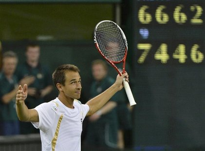 Lukas Rosol: Beat Rafael Nadal in five sets - tennis Photo