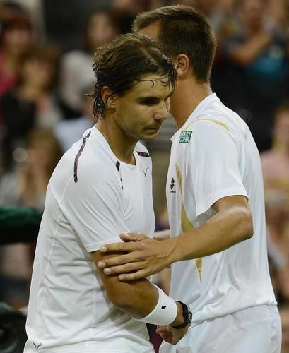 Lukas Rosol: Beat Rafael Nadal in five sets