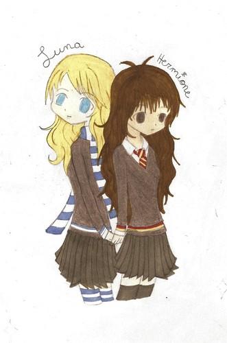 Luna and Hermione