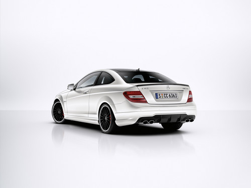 MERCEDES - BENZ C63 AMG coupe, cupê, coupé