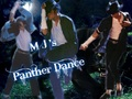 MJ's Panther Dance - black-or-white wallpaper