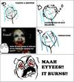 Mah Eyes! - rage-comics photo