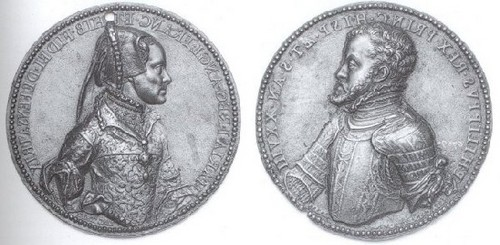 Mary I and Philip II's Медали