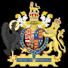 Mary I's coat of arms