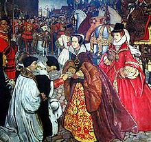 Mary I's entry to London (with Elizabeth)
