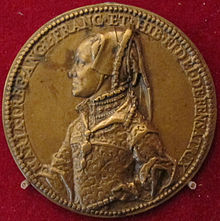 Mary Tudor's bronze medal