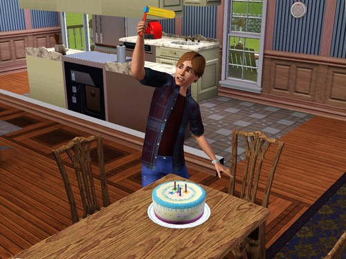 Matthew in Sims 3