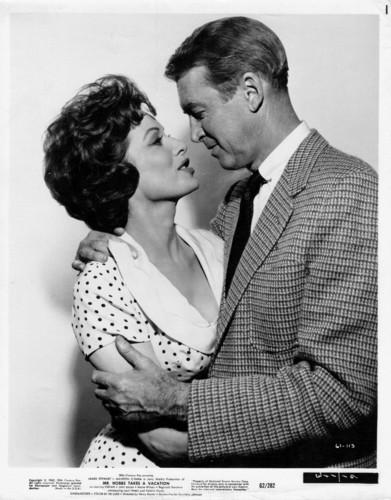 Maureen O'hara & Jimmy Stewart