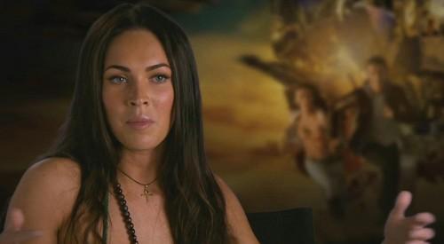 Megan rubah, fox Revenge of the Fallen Special Features