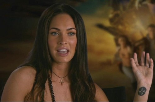 Megan fox, mbweha Revenge of the Fallen Special Features