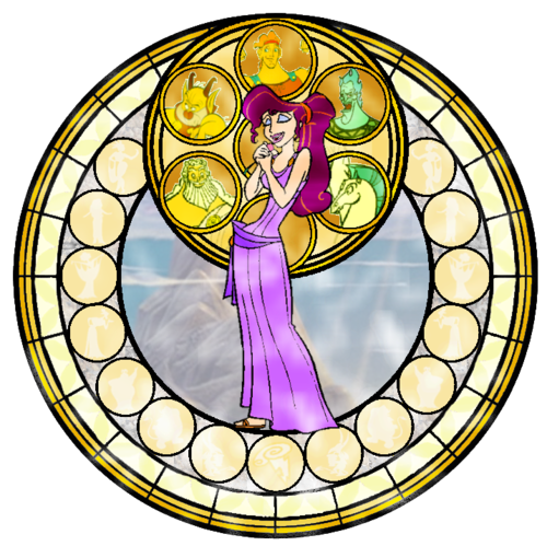 Megara Stained Glass