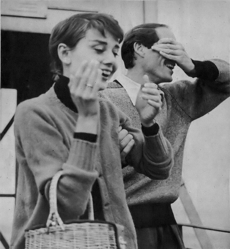 Mel and Audrey Ferrer