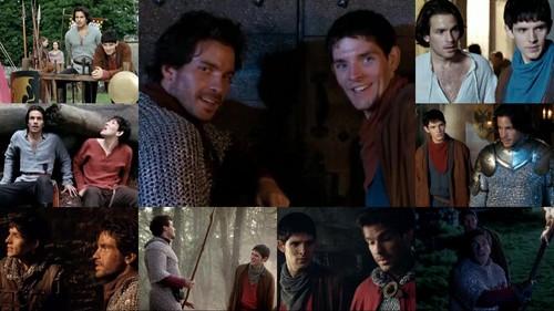 Merlin & Lancelot 1 fond d'écran