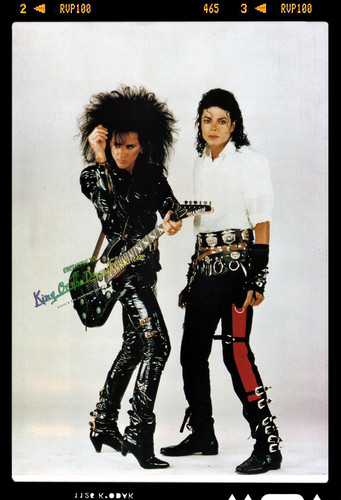 Michael Jackson &amp; Steve Stevens Dirty Diana Set 1988 HQ - michael-jackson Photo
