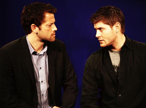 Misha & Jensen Staring