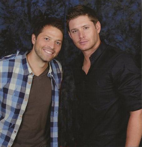 Misha & Jensen - Jensen Ackles and Misha Collins Photo ...