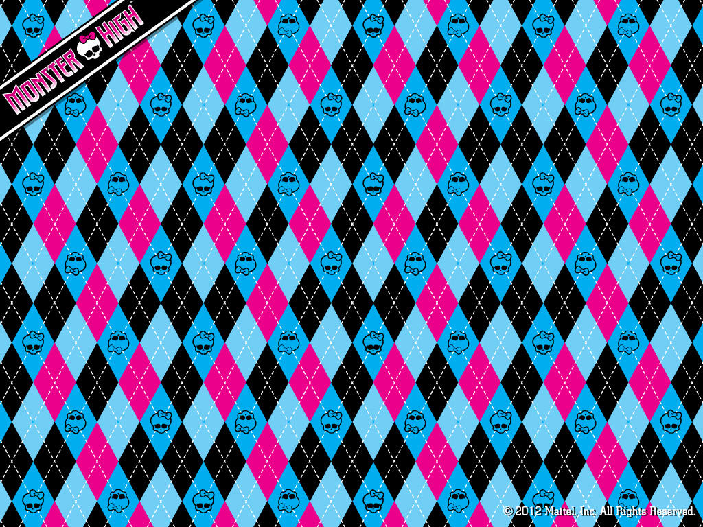 Monster High Argyle wallpaper 1024x768