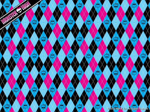 Monster High Argyle fond d'écran 1024x768