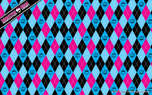 Monster High Argyle wolpeyper 1280x800