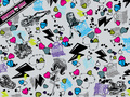 Monster High Collage kertas dinding 1024x768
