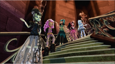 Monster High Ghouls Rule special