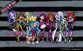 Monster High Ghouls fond d'écran 1280x800