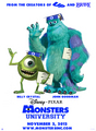 Monster universidad Poster