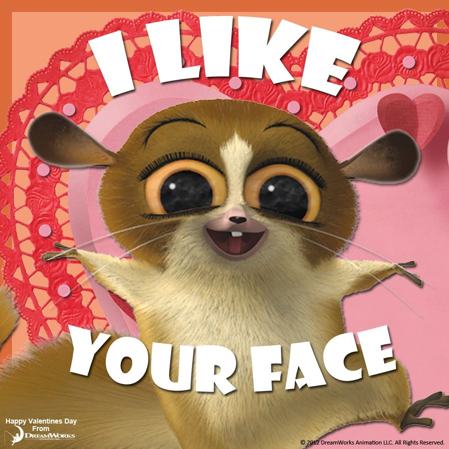 Mort likes your face.